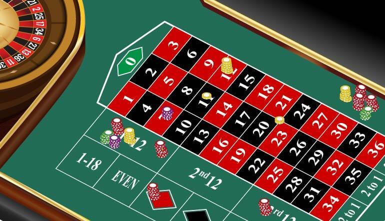 Bets In Roulette Game